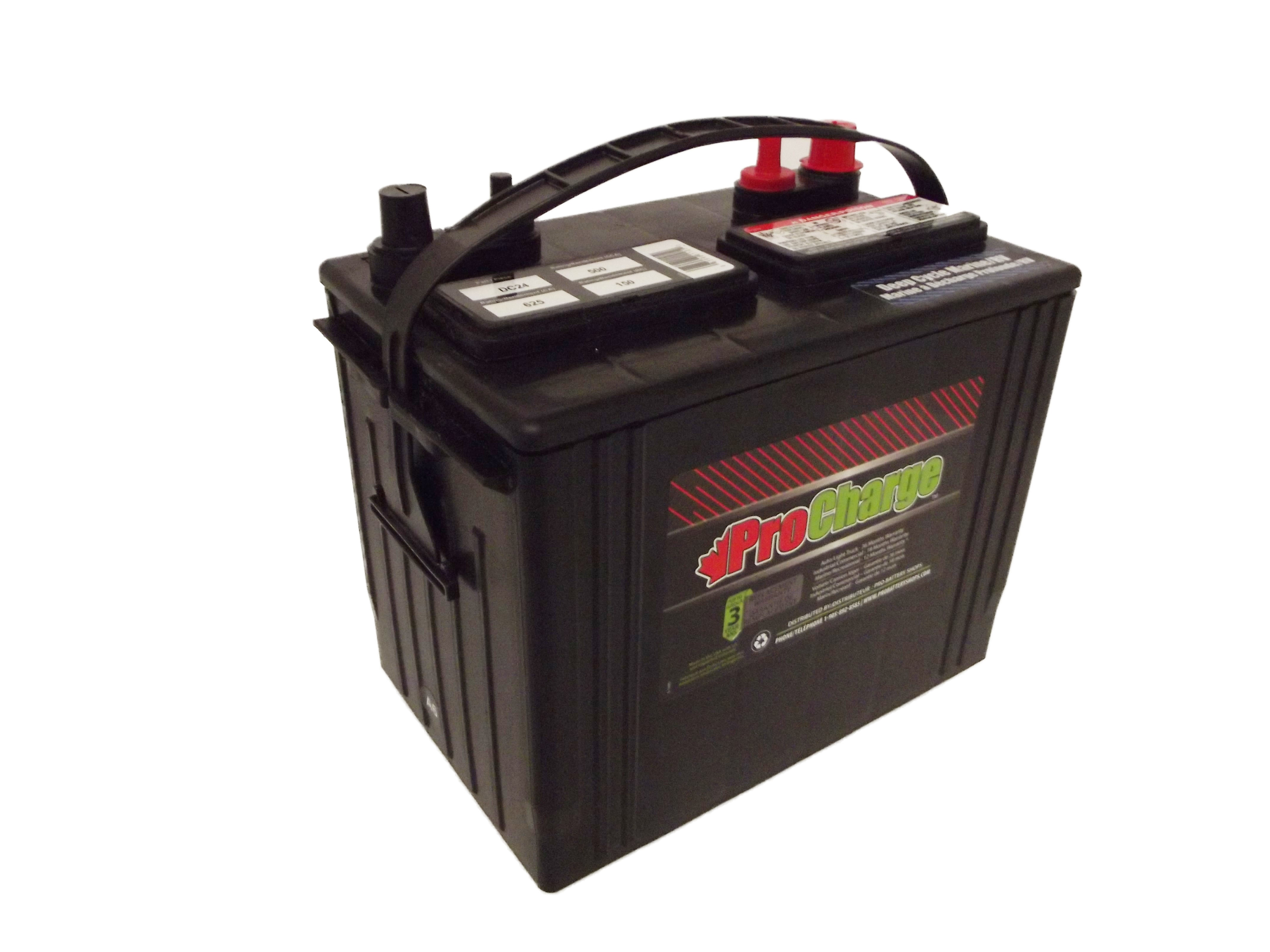 Pro Charge Gr 24m Deep Cycle 500 Cca 150rc Pro Battery Shops