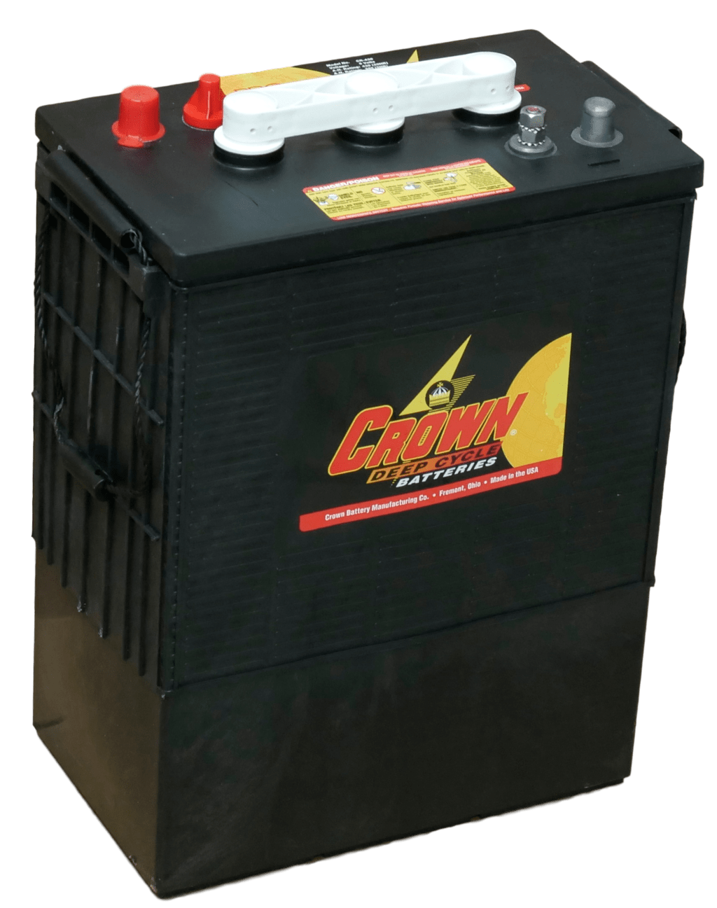 Crown 8L16 Deep Cycle 6 Volt 430AH Battery